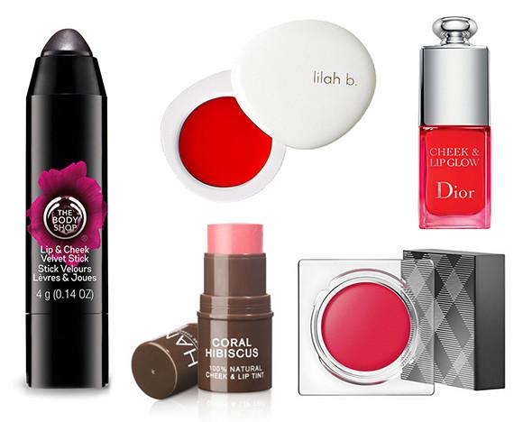 Фото: Пресс-материалы Cheek & Lip Glow Dior, Han Skin Care Cosmetics, Burberry, Lilah B, The Body Shop
