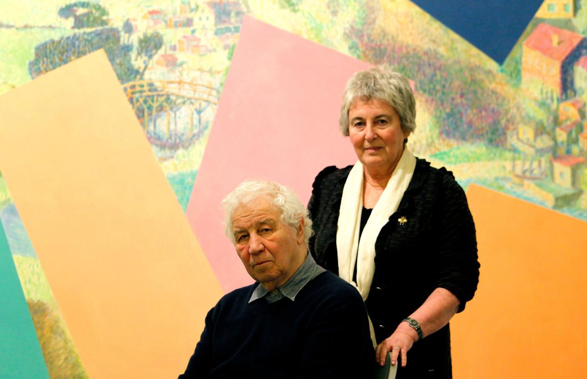 Илья и Эмилия Кабаковы