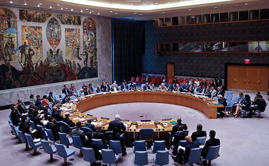 ЗаседаниеСовбеза ООН, сентябрь 2016 года