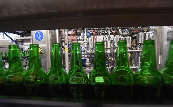 Работа пивоваренного завода