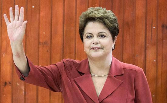 Действующий президент Бразилии Дилма Руссефф