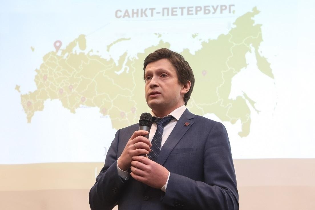 Председатель Комитета по промышленной политике, инновациям и торговле Петербурга Кирилл Соловейчик