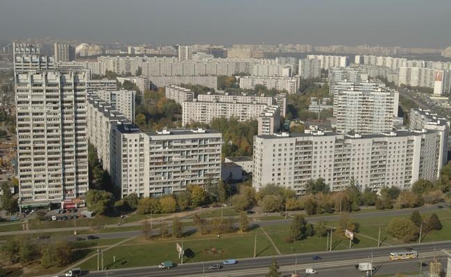 Москва, район Строгино