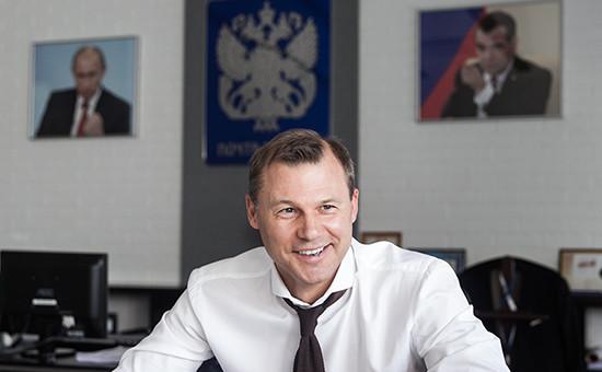 Генеральный директор «Почты России» Дмитрий Страшнов