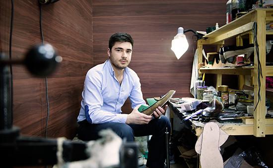 Основатель мастерской обуви ручной работы Migliori Махач Хайбаев