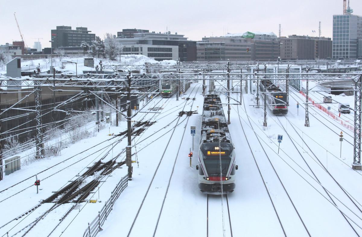 Фото: страница железнодорожной компании Финляндии VR в соцсети Facebook
