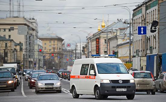 Вид напроспект Мира в Москве
