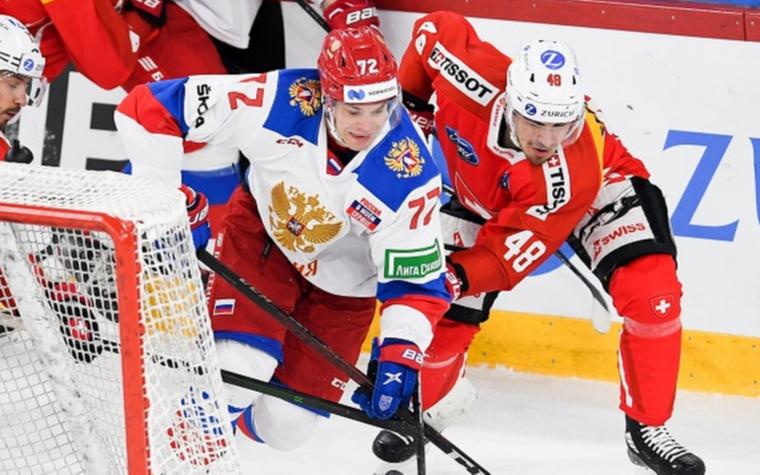 Фото: Швейцария - Россия (Фото: сайт Федерации хоккея страны)