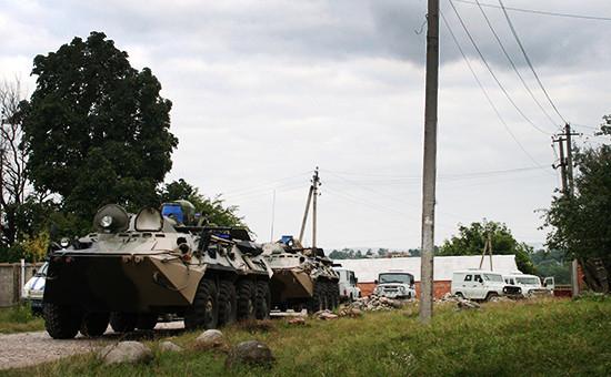 Контртеррористическая операция в Ингушетии. Архивное фото
