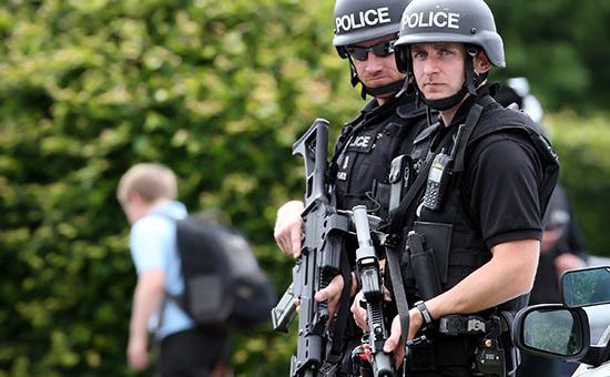Сотрудники полиции вВеликобритании