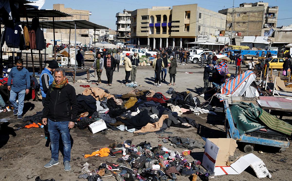 ИГ взяло на себя ответственность за двойной теракт в Багдаде :: Политика :: РБК