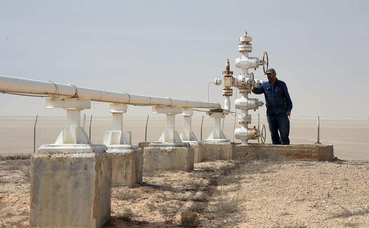 Газовое месторождение в Сирии к востоку от Хомса