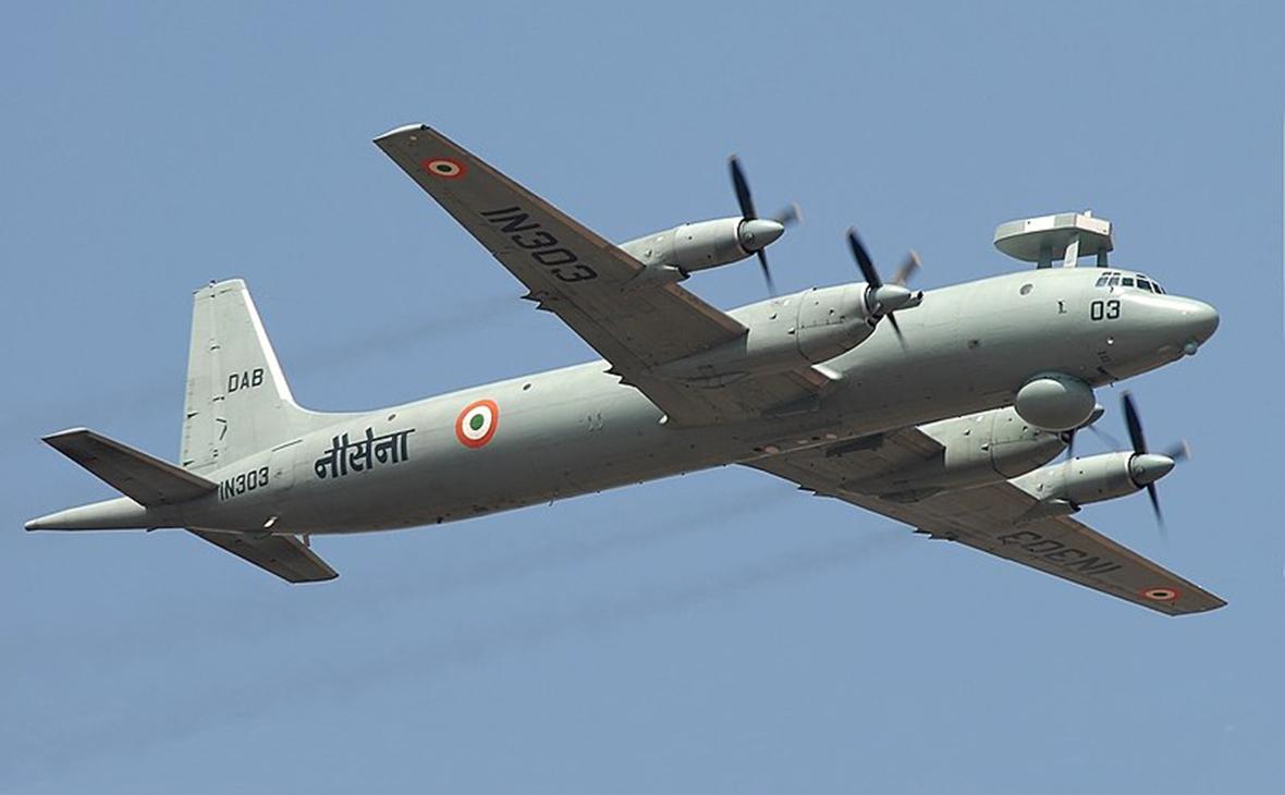 Ил-38 ВМС Индии. 2007 год