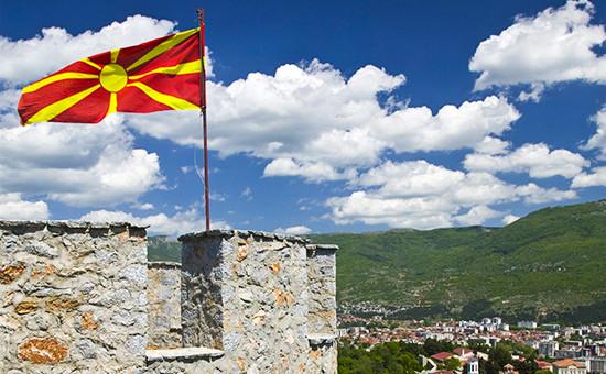 Крепость царя Самуила. Охрид, Македония