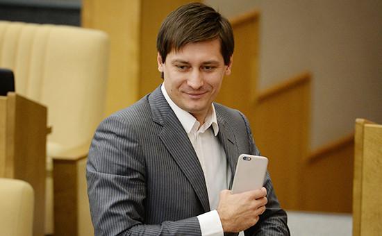 Депутат Госдумы РФ Дмитрий Гудков