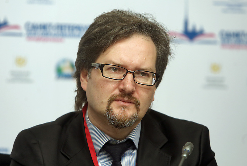 Ректор Европейского университета в Санкта-Петербурге Олег Хархордин