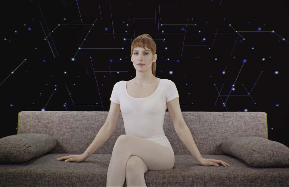 Кадр из клипа Муси Тотибадзе«Тебя»