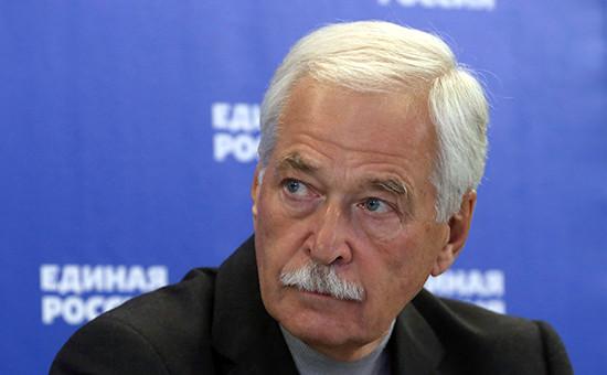Представитель России в контактной группе по Украине Борис Грызлов
