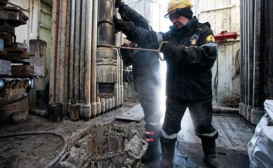 Сотрудники «Роснефти» наВанкорском месторождении