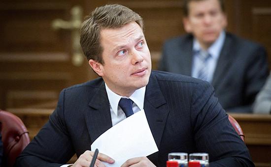 Руководитель Департамента транспорта и развития дорожно-транспортной инфраструктуры Москвы Максим Ликсутов