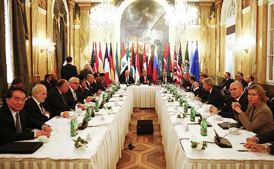 Участники переговоров в Вене