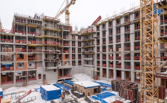 Строительство нового дома вМоскве