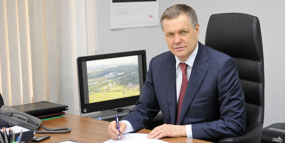 Глава департамента развития новых территорий Москвы Владимир Жидкин