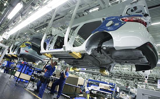 Производство автомобилей Hyundai назаводе «Хендэ Мотор Мануфактуринг Рус» вПетербурге