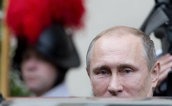 Рабочий визит президента России Владимира Путина в Италию и Ватикан