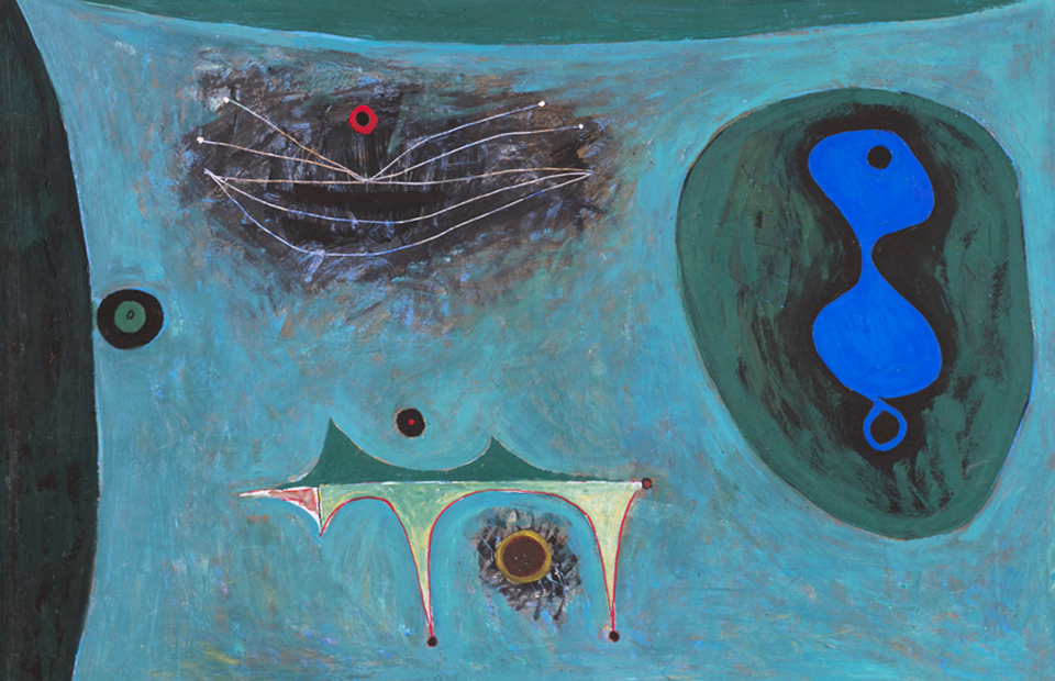 Фрагмент картины Владимира Янкилевского «Этюд №10», 1961 г.