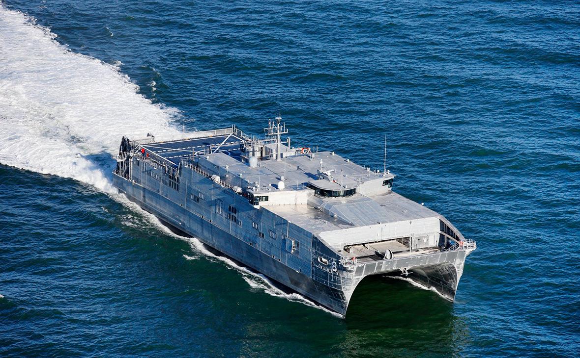 Корабль командования морских перевозок ВМС США Yuma
