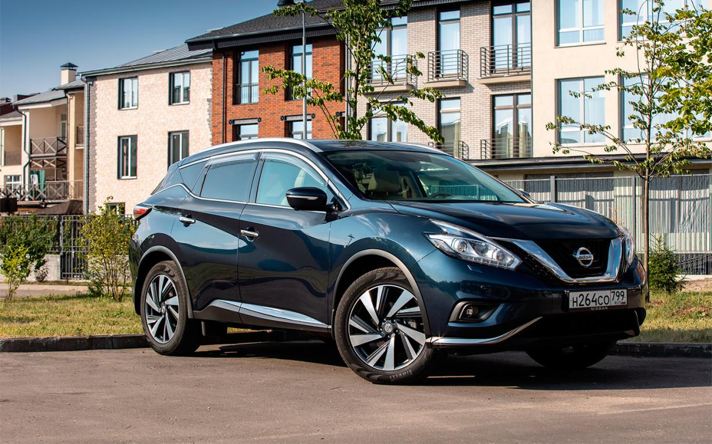 Дитя трех эпох. Тест-драйв Nissan Murano
