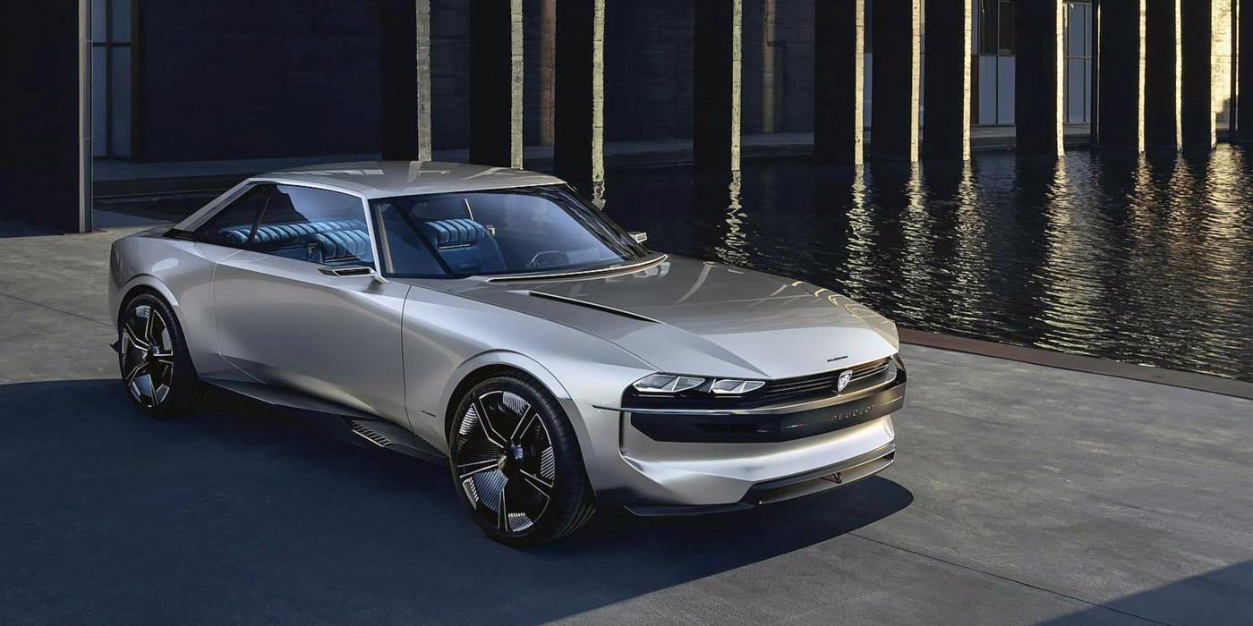Peugeot представила электрокар в стиле купе полувековой давности