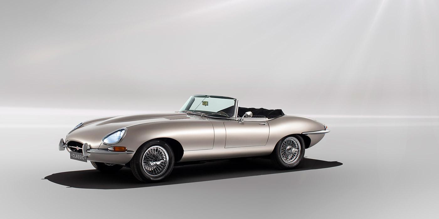 Jaguar начнет производство электрокаров в кузове от E-Type