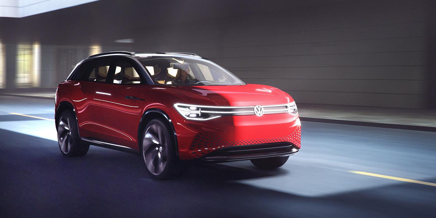 Volkswagen презентовал большой электрический кроссовер
