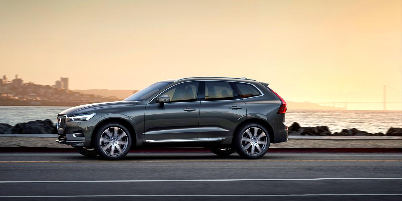 Volvo поздравляет всех женщин выпуском XC60 нового поколения !