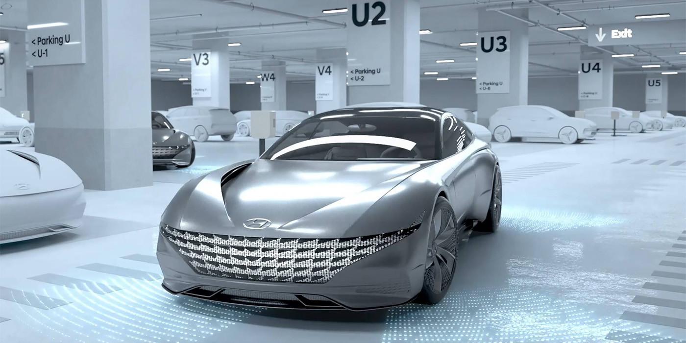 Hyundai создал беспроводную автоматическую зарядку для электрокаров
