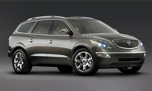Концепт Buick Enclave очень похож на серийную версию