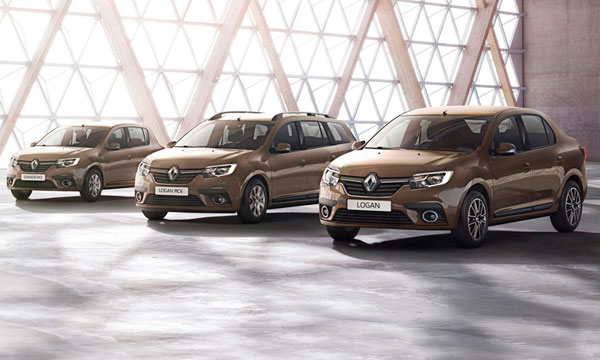 В сети рассекретили обновленные Renault Logan и Sandero
