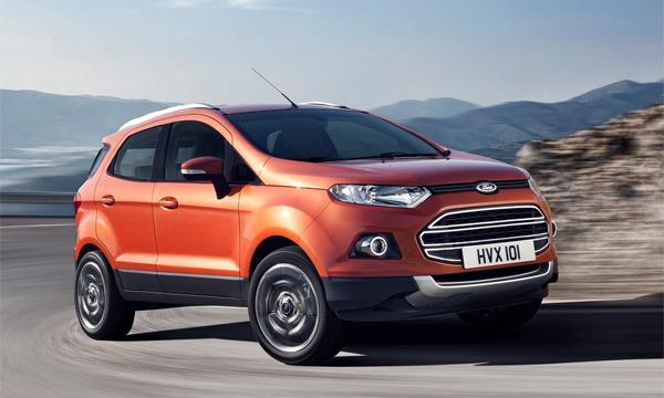Ford объявил рублевую цену кроссовера EcoSport
