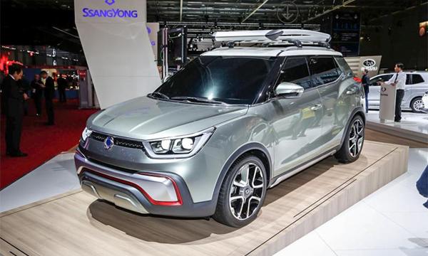 SsangYong представил конкурента Nissan Juke