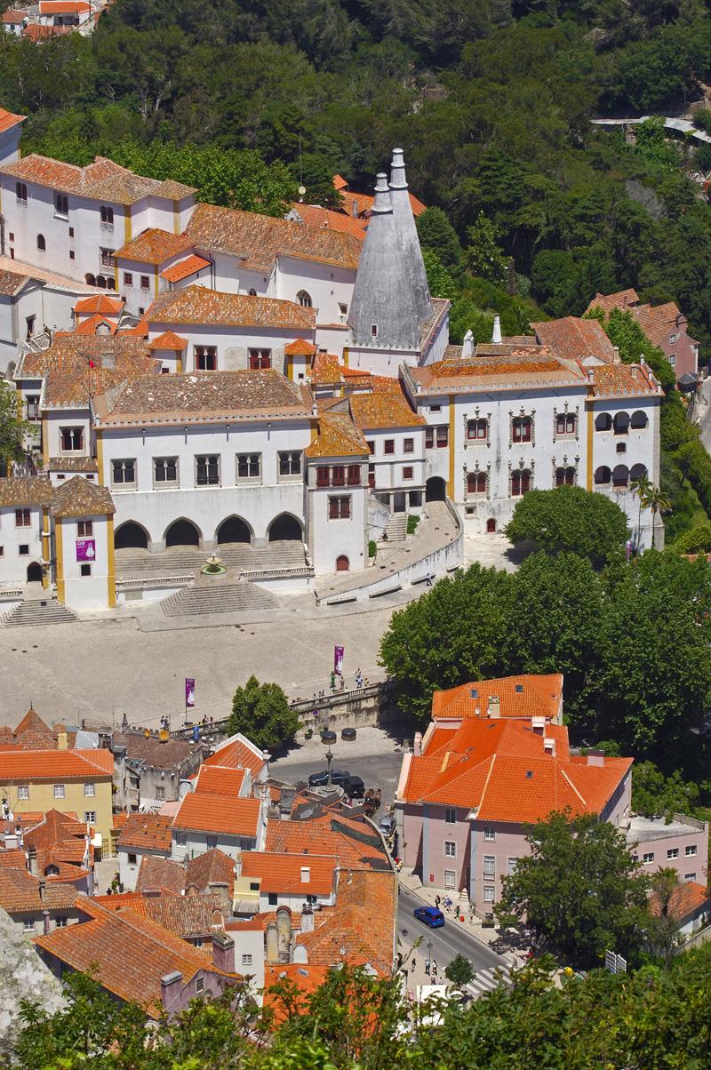 Национальный дворец Синтра, Португалия