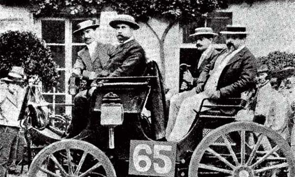 1894 г. – Peugeot с двигателем Daimler