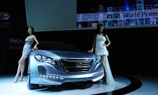 Hyundai и Beijing Automotive показали свой первый автомобиль