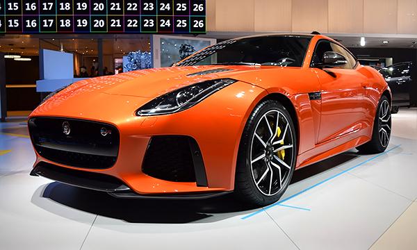 F-Type SVR стал самым мощным Jaguar в истории