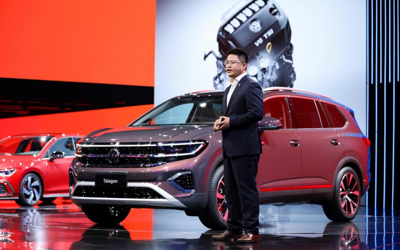 В Шанхае дебютировал самый большой кроссовер Volkswagen