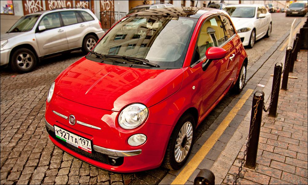 Мнительность. Неправильный тест-драйв Fiat 500