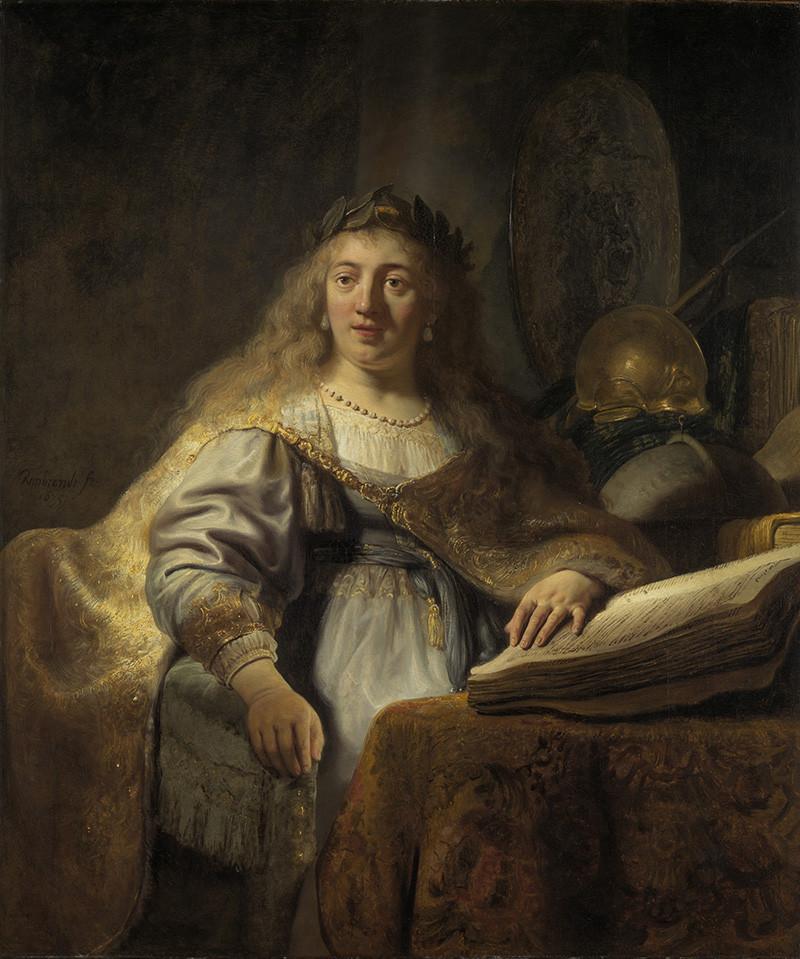 Рембрандт. «Минерва»