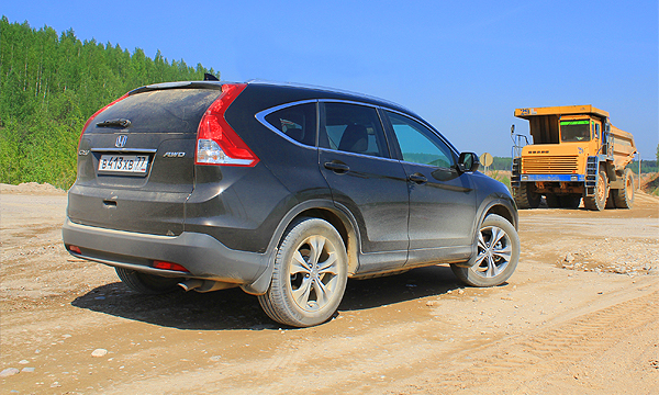 В песочнице. Тест-драйв Honda CR-V
