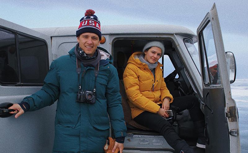 Николай Ковальков и Алина Сенчакова